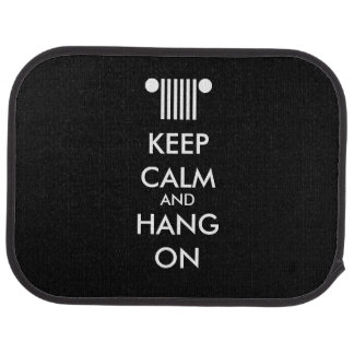 Keep Calm Hang On Car Floor Mat