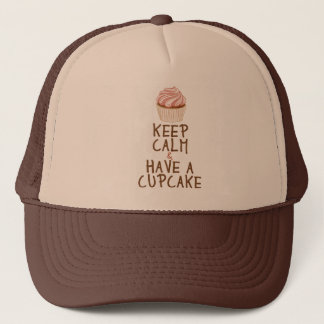Keep Calm & Have a Cupcake Trucker Hat