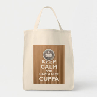 'Keep Calm & Have a Cuppa!' Tote Bag