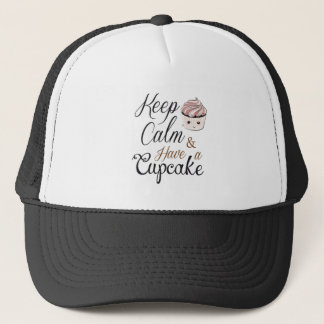 Keep calm Have Cupcake Kawaii Trucker Hat