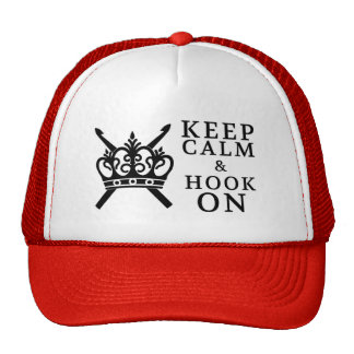 Keep Calm Hook On Trucker Hat