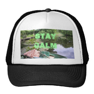 Keep calm, humerous hat