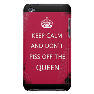 keep calm humor iPod touch Case-Mate case
