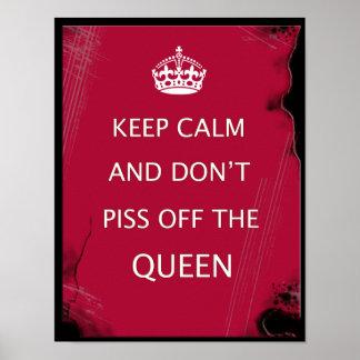 keep calm humor print