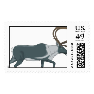 Keep Calm Hunt Deer Venison Antlers Animal Hunting Stamp