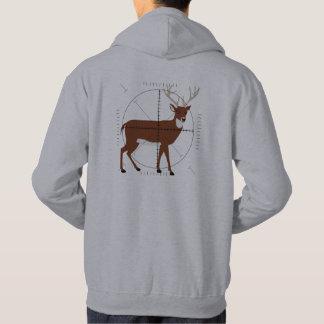 Keep Calm Hunt Deer Venison Shoot Shooting Hunting Hoodie