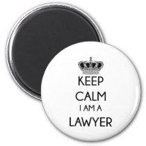 Keep Calm, I am a Lawyer Magnet