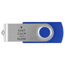 Keep Calm I am a Nurse Flash Drive