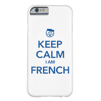 KEEP CALM I AM FRENCH BARELY THERE iPhone 6 CASE