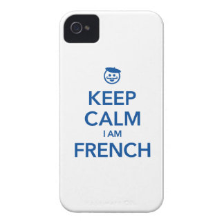 KEEP CALM I AM FRENCH iPhone 4 CASE