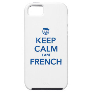 KEEP CALM I AM FRENCH iPhone SE/5/5s CASE