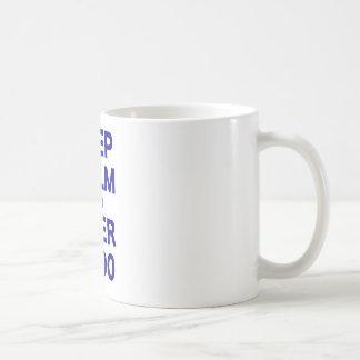 Keep Calm I am Over 9000 Coffee Mug