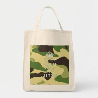 Keep Calm I Know Jiu-Jitsu Tote Bags