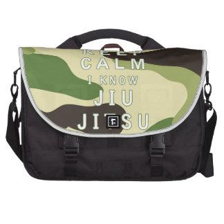 Keep Calm I Know Jiu-Jitsu Commuter Bags