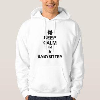Keep calm I'm a babysitter Hoodie