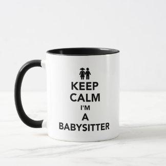 Keep calm I'm a babysitter Mug