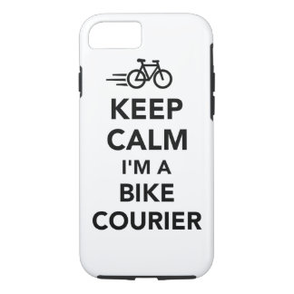 Keep calm I'm a bike courier iPhone 8/7 Case