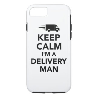 Keep calm I'm a delivery man iPhone 8/7 Case