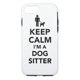 Keep calm I'm a dog sitter iPhone 8/7 Case