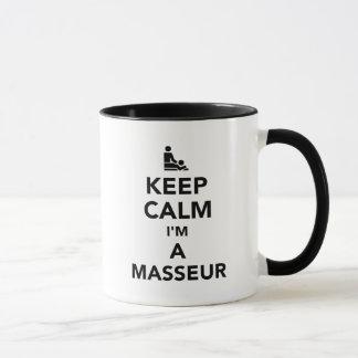 Keep calm I'm a masseur Mug
