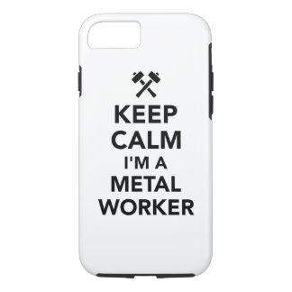 Keep calm I'm a metal worker iPhone 8/7 Case