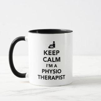 Keep calm I'm a physiotherapist Mug
