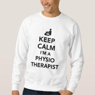 Keep calm I'm a physiotherapist Sweatshirt