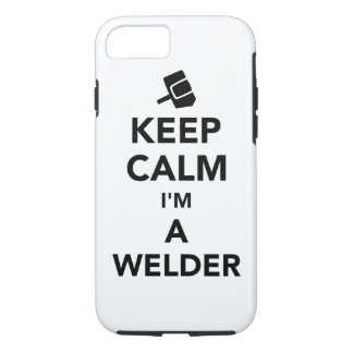Keep calm I'm a welder iPhone 8/7 Case