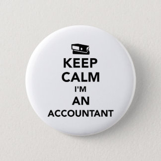 Keep calm I'm an accountant Button