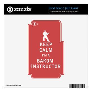 Keep Calm I'm a Bakom Instructor iPod Touch 4G Skin