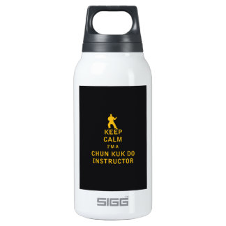 Keep Calm I'm a Chun Kuk Do Instructor Insulated Water Bottle