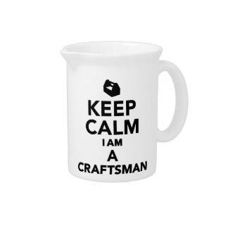 Keep calm I'm a Craftsman Pitcher
