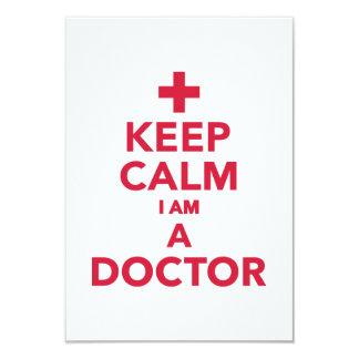 Keep calm I'm a doctor Card