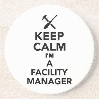 Keep calm I'm a Facility Manager Drink Coaster