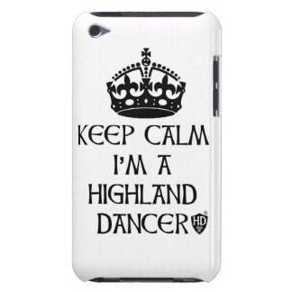 Keep Calm I'm a Highland Dancer iPod Touch Cover