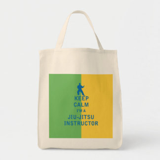Keep Calm I'm a Jiu-Jitsu Instructor Bag