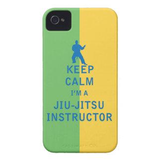 Keep Calm I'm a Jiu-Jitsu Instructor iPhone 4 Case-Mate Cases