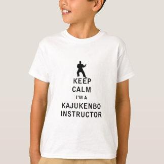 Keep Calm I'm a Kajukenbo Instructor T-Shirt