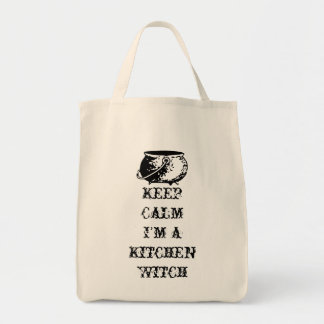 Keep Calm, I'm a Kitchen Witch Tote Bag
