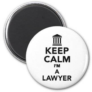 Keep calm I'm a lawyer Refrigerator Magnet