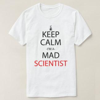 Keep Calm I'm A Mad Scientist Anime Manga Shirt