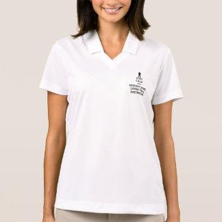 Keep Calm I'm a Modern Army Combatives Instructor Polo Shirt