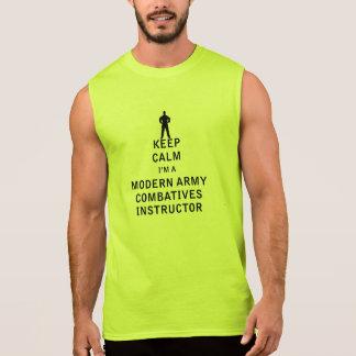 Keep Calm I'm a Modern Army Combatives Instructor Sleeveless T-shirt