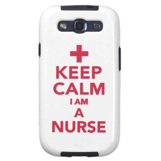Keep calm I'm a nurse Galaxy S3 Case