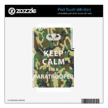 Keep Calm - I'm a Paratrooper Decal For iPod Touch 4G