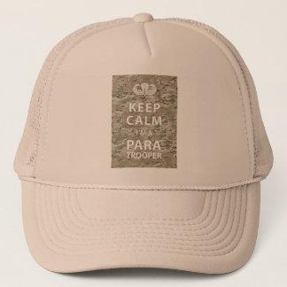 Keep Calm - I'm a Paratrooper Trucker Hat