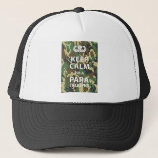 Keep Calm I'm a Paratrooper Trucker Hat
