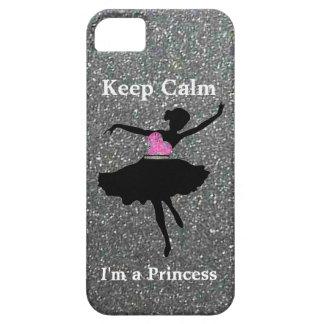 Keep Calm I'm a Princess iPhone 5/5S Case