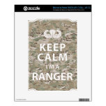 Keep Calm I'm A Ranger Decal For The NOOK