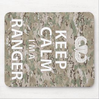 Keep Calm I'm A Ranger Mouse Pad